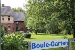Boule-Garten
